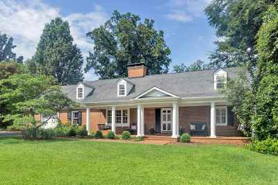 Charlottesville Single Family Home For Sale: 1882 Westview Rd