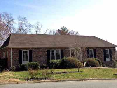 Charlottesville Single Family Home For Sale: 1739 Old Brook Rd
