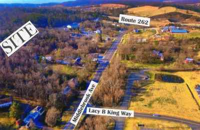 Staunton Lots & Land For Sale: Middlebrook Ave