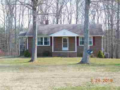 Scottsville VA Single Family Home For Sale: $249,000