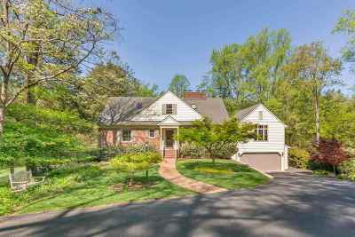 Charlottesville Single Family Home For Sale: Overlook Dr