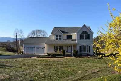 Single Family Home For Sale: 3035 Fredericksburg Rd