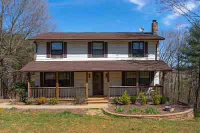 Charlottesville Single Family Home For Sale: 1524 Harris Creek Rd