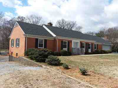 Staunton VA Single Family Home For Sale: $289,500
