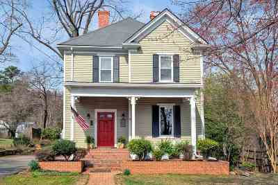 Charlottesville Single Family Home For Sale: 807 Park St