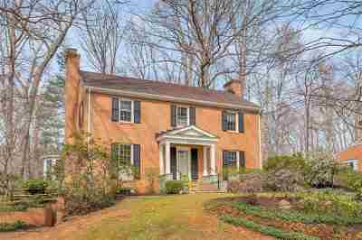 Charlottesville Single Family Home For Sale: 1609 Concord Dr