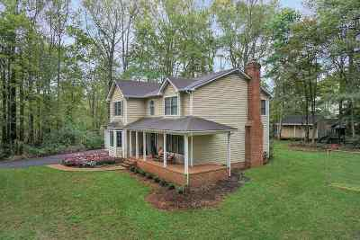 Charlottesville Single Family Home For Sale: 615 Marshall Ct