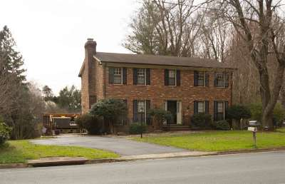 Charlottesville Single Family Home For Sale: 206 Chaucer Rd
