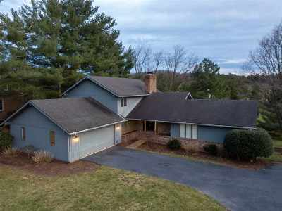 Harrisonburg Single Family Home For Sale: 841 Sandtrap Ln