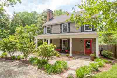Charlottesville Single Family Home For Sale: 1107 Rugby Rd