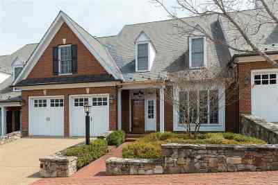Albemarle County Townhome For Sale: 850 Colridge Dr