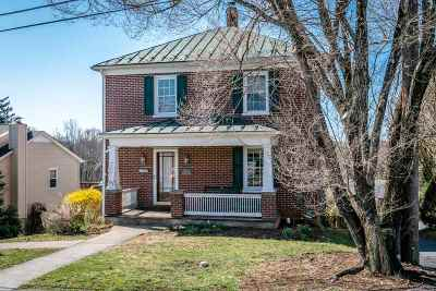 Staunton VA Single Family Home For Sale: $205,000