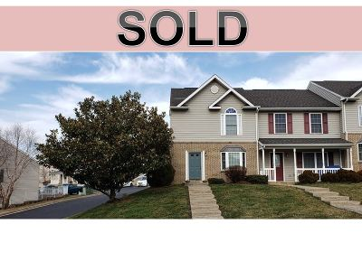 Harrisonburg Townhome For Sale: 1222 Old Windmill Cir