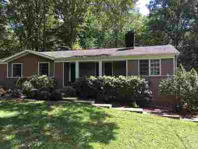 Charlottesville Single Family Home For Sale: 3337 Preddy Creek Rd