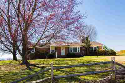 Mount Crawford Single Family Home Sold: 3318 Friedens Church Rd