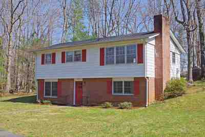Albemarle County Single Family Home For Sale: 1538 Ballard Dr