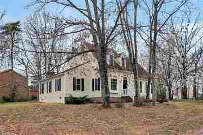 Charlottesville Single Family Home For Sale: 1521 Shadow Oaks Pl