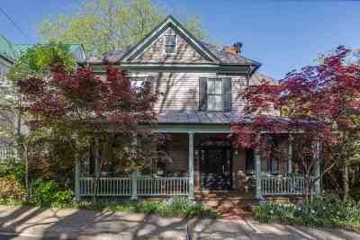 Charlottesville Single Family Home For Sale: 419 NE 2nd St