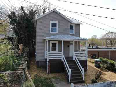 Charlottesville Single Family Home For Sale: 342 6 1/2 St