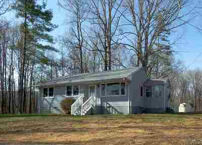 Albemarle County Single Family Home Pending: 5174 Three Notch'd Rd
