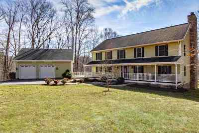 Charlottesville Single Family Home For Sale: 835 Broad Axe Rd