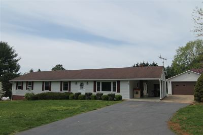 Albemarle County Single Family Home For Sale: 384 Newtown Rd
