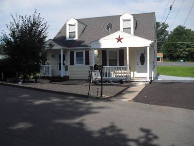 Staunton VA Single Family Home For Sale: $158,900
