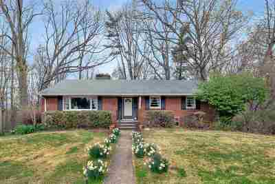 Charlottesville Single Family Home For Sale: 1071 Allendale Dr