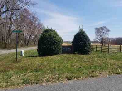 Fluvanna County Lots & Land For Sale: 7 Bybees Church Rd