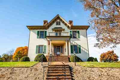 Staunton VA Single Family Home For Sale: $650,000