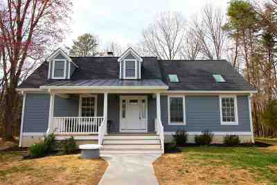 Fluvanna County Single Family Home Active W/Kickout: 2675 Venable Rd