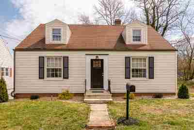 Single Family Home Sold: 807 Hall St