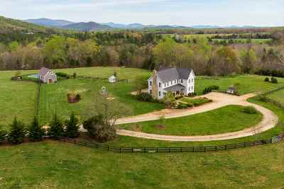 Albemarle County Single Family Home For Sale: 1204 Simmons Gap Rd