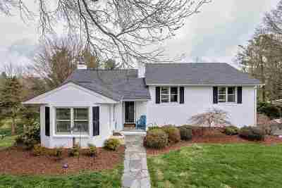 Waynesboro, Staunton Single Family Home For Sale: 1224 Shamrock Ln