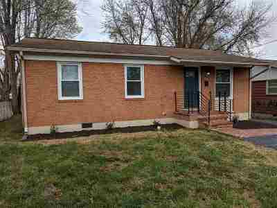 Harrisonburg VA Single Family Home For Sale: $189,900