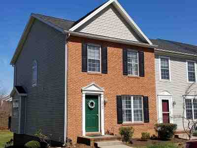 Rockingham County Townhome For Sale: 2865 Taylor Spring Ln