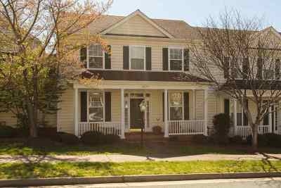 Charlottesville Townhome For Sale: 3177 Turnberry Cir
