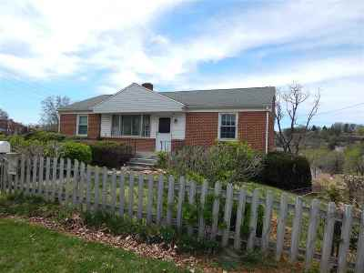 Staunton VA Single Family Home For Sale: $160,000