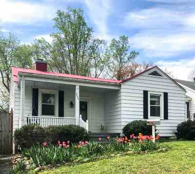 Charlottesville Single Family Home For Sale: 206 Harris Rd