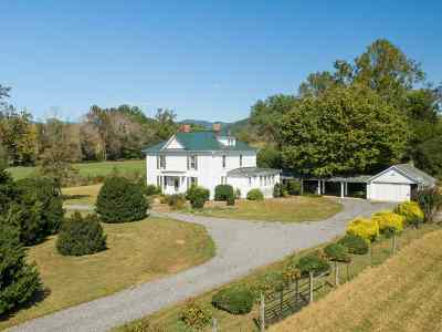 Madison County Single Family Home For Sale: 1212 Old Blue Ridge Tpke