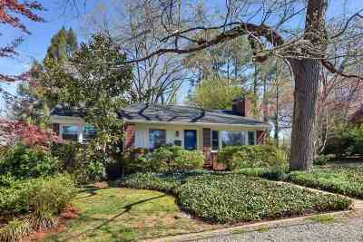Charlottesville Single Family Home For Sale: 1457 Oxford Rd