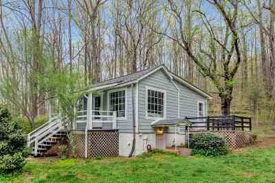 Single Family Home For Sale: 581 Taylors Gap Rd