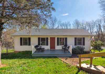 Staunton Single Family Home For Sale: 330 Monument Dr