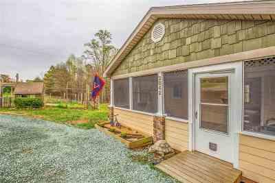 Fluvanna County Single Family Home Active W/Kickout: 2542 Ridge Rd