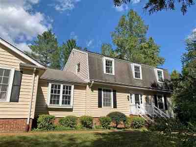 Single Family Home For Sale: 2520 Cedar Ridge Ln