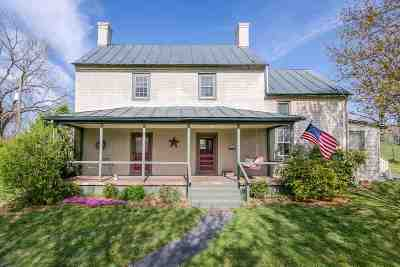 Waynesboro, Staunton Single Family Home For Sale: 53 Stagecoach Rd