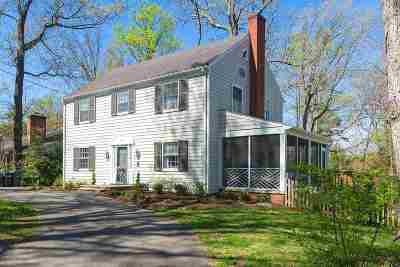 Charlottesville  Single Family Home For Sale: 1415 Dairy Rd