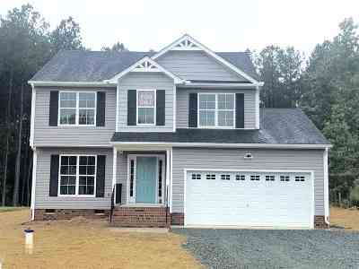 Fluvanna County Single Family Home For Sale: Lot 11 Cunningham Meadows Dr