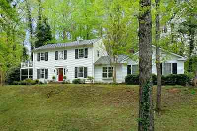 Charlottesville Single Family Home For Sale: 722 Broomley Rd