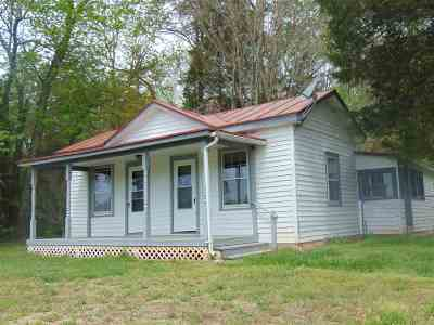 Louisa Single Family Home For Sale: 301 Bannister Town Rd